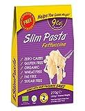 Eat Water Slim Pasta Fettuccine Zero Kohlenhydrate 25er Pack * 270 Gramm | aus glutenfreiem Bio-Konjakmehl | Keto Paleo Diät und Vegan | Zero Sugar und Low Calorie Food