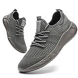 BUBUDENG Herren Laufschuhe Sportschuhe Sneaker Straßenlaufschuhe Turnschuhe Outdoor Leichtgewichts Laufschuhe Freizeit Atmungsaktive Fitness Schuhe