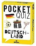 moses. Pocket Quiz Deutschland l 150 Rätsel - Fragen über Deutschland l Für Kinder ab 12 Jahren und Erwachsene (Pocket Quiz: Ab 12 Jahre /Erwachsene)