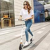 YF-Mirror Klapproller mit 200 mm großen Rädern, Kick Scooter für Kinder ab 10 Jahren/Erwachsene + Höhenverstellbar, Smooth Ride Commuter Tragbarer Roller Teenager