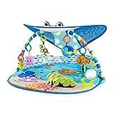 Bright Starts, Disney Baby, Findet Nemo Spieldecke mit Spielbogen, Lichtern und mehr als 20 Minuten Melodien, einer Dorie Fingerpupp