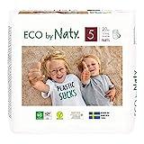 Eco by Naty, Premium-Bio‑Höschenwindeln Pants, Größe 5, 80 Stück, 12–18 kg, aus pflanzenbasierten Materialien, frei von gefährlichen Chemikalien