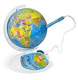 Clementoni 69492 Galileo Science – Interaktiver Globus mit App, sprechende Weltkugel mit Fragen & Fakten, Spielzeug für Kinder ab 7 Jahren, Lernspielzeug