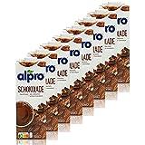 Alpro - 8er Pack Sojadrink Schoko 1 Liter - Choco Soja Soya Drink 100 % pflanzlich