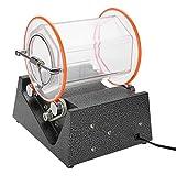 5 kg rotierende Schmuckfasspoliermaschine, 270 * 220 * 110 mm, kleine Haushaltspoliermaschine zum Reinigen und Polieren von Schmuck 220V 60W EU-Steck