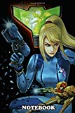 Notebook: Double Metroid , Journal for Writing, College Ruled Size 6' x 9', 110 Pages