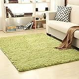 Weicher Teppich für Schlafzimmer, Wohnzimmer, Eingang, Mittelfuß, Teppich, Fußmatte, Bürostuhl, zottelig, lange Haare, nordische Raumdek