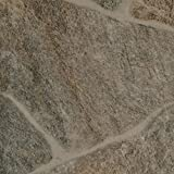 PVC Vinyl-Bodenbelag | Muster | Bruchstein Optik braun | CV PVC-Belag in verschiedenen Maßen verfügbar | CV-Boden wird in benötigter Größe als Meterware g