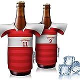 vereins-Trikot-kühler Home für VfB Stuttgart Fans | 2er Fan-Edition| 2X Trikots | Fußball Fanartikel Jersey Bierkühler by ligakak