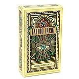 DUXIUYING Tattoo Tarot Karten Tarot, für Erwachsene, Familienspiele-freundliche Partysp