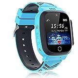 Genrics Kinder-Armbanduhr, wasserdicht, IPX67 Smartphone, für Kinder, mit Kamera/Nachrichten/Spielen, 3 – 12 Jahre