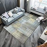 ZAZN Rutschfester, Verschleißfester Teppich Wohnschlafzimmer Wohnzimmer Sofa Couchtischmatte 3D-Druck Büroeingangsdeck