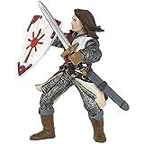 Papo 39282 Lancelot, rot Mittelalter - Fantasy Figur, Mehrfarben