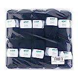 Gründl Lisa Premium Wolle, Polyacryl, marine, 133 m, Nadelstärke 3,5- 4,5, 10er Pack