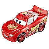 Disney Pixar Cars GXT29 - Track Talkers Lightning McQueen, 14cm großes Fahrzeug mit Geräuscheffekten, ab 3 Jahren