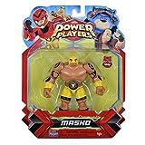 Power Players Figur, 12 cm, Masko, 10 Gelenkpunkte & Zubehör, Spielzeug für Kinder ab 4 Jahren, PWW015