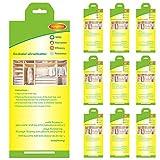 Stingmon 10 Stück Kleidermottenfalle Mottenschutz Insektizidfreie Pheromonfalle Erstklassige Mottenfalle für den Kleiderschrank MEHRWEG