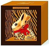 Lindt GOLDHASE Safari, im Rahmen, Vollmilch Schokoladen-Figur mit Geschenkverpackung im Safari-Design, 1er Pack (1 x 200 g)