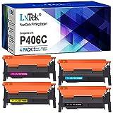 LxTek Kompatibel Tonerkartusche als Ersatz für Samsung CLT-P406C CLT-406S für Xpress C460W C460FW C410W C460 CLX-3305 CLX-3300 CLX-3305FW CLX-3305FN CLX-3305W CLP-365 CLP-365W CLP-360 (4er-Pack)