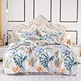 AZSOGOOD Vierköpfige Bettdecke mit vierteiligem Bettdecke Plüsch Dickes bürgertes vierteiliges, vierteiliges Bettwäsche-Set, Exquisite Bettwäsche, warmes Bettbezug-E_200 * 230 cm (4 stücke)