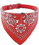 ducomi verstellbares Halsband mit Halstuch für Hunde und Katzen–Schönes Accessoire für Ihr Hund und ihre Katze