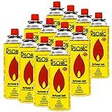 Elfmonkey Gaskartusche 227g | Butan Gas mit Ventil | geeignet für Lötlampe, Campingkocher, Gasheizung, Gaskocher etc.: 4 Kartuschen
