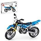 HYZH Technik Motorrad Bauset für Yamaha WR450F, 799 Klemmbausteine Technik Offroad Motorrad Modell, Bausteine Bausatz Kompatibel mit Lego Technic