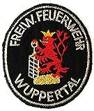Freiwillige Feuerwehr - Wuppertal - Ärmelabzeichen - Abzeichen - Aufnäher - Patch - Motiv 1