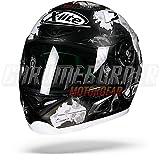 X-lite X-802RR REPLICA C.CHECA Integralhelm Motorrad Verbundfaser - matt schwarz weiss Größe M