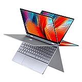 BMAX Y13 2 in 1 Laptop, 13.3 Zoll FHD Convertible Touchscreen Notebook, Windows 10, Intel Gemini Lake N4120 CPU, 8 GB LPDDR4-RAM, 256 GB SSD, Vollmetallgehäuse, USB-C, BT4.2, WiFi 2.4G/5.0G