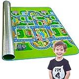 Kinderteppich, faltbar, für Kinder, mit EVA-Gummi, groß, waschbar