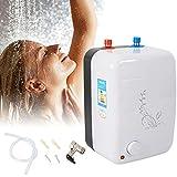 Generic Instant Warmwasserspeicher, Durchlauferhitzer Boiler Gasdurchlauferhitzer Untertisch druckfest Kleinspeicher 1500W 8 L