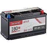 Accurat Impulse 80Ah 12V LiFePO4 Starterbatterie L5 Lithium Auto-Batterie für Start-Stop I80L5 LFP