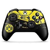 DeinDesign Skin kompatibel mit Microsoft Xbox One X Controller Folie Sticker Borussia Dortmund BVB Fanartikel
