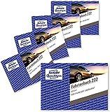 AVERY Zweckform 222 Fahrtenbuch für PKW im 10er-Pack (vom Finanzamt anerkannt, A6 quer, 80 Seiten insgesamt 390 Fahrten, für Deutschland und Österreich zur Abgrenzung privater/geschäftlicher Fahrten)