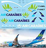 Generico 1/144 Decals for Airbus A350 Air Caraibes Livery TB Decal TBD510
