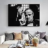 Drucken auf Leinwand Wandbild im Wohnzimmer des Schlafzimmers eines Filmstars,60x90cm,Rahmenlose Malerei