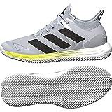 adidas Herren Adizero Ubersonic 4 M Clay Tennisschuhe, Mehrfarbig (Ftwbla Negbás Azuhal), 48 EU