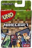Mattel Games Mattel UNO Minecraft FPD61 Kartenspiel, Mehrfarbig