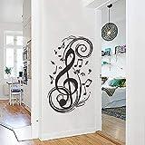N-brand PULABO Einfache Wandaufkleber Musiknote Muster Wandtattoo Wohnkultur Hohe Qualität rob