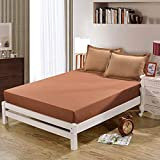 NHhuai Matratzenauflage Kopfkissenschoner in verschiedenen Größen Einfarbige Schutzhülle für EIN Produkt, rutschfeste Bettdecke