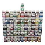 GUMEI 56Bottles Perlglanzpulver Epoxy Resin Dye Pearl Pigment in Kosmetikqualität
