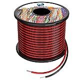 22awg 0,3mm² Silikon Elektrischer Draht Kabel 2x30 Meter sauerstofffrei hochtemperatur beständiger verseilter verzinnter Kupferdraht