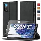 2021 Upgraded S20 FE Handyhülle für Samsung Galaxy S20 FE Hülle Leder [Standfunktion] [Kartenfach] für Samsung S20 FE 5G Hülle Leder, Etui Flip Schutzhülle Stoßfeste Case für Samsung S20 FE Klapphülle