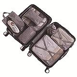 AIWKR Kleidertaschen Set,kofferorganizer Reise Würfel,für Kleidung Kosmetik Schuhbeutel Aufbewahrung