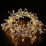 LED-Lichterkette mit 200 LEDs, Kupferdraht, Weihnachtsbeleuchtung, Hochzeit, Party, Garten, Urlaub