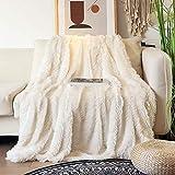 Kuscheldecke, Fleecedecke PV Flauschigen Haaren Wohndecke Superweiche Kunstpelz Warme Decke 160 x 200 cm, Wolldecke kann als Sofadecke TV-Decke und Klimaanlage Verwendet Werden