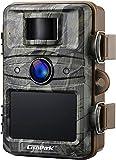 Campark Wildkamera 16MP 1080P No Glow Night Vision 940nm Überwachungskamera Jagdkamera Sicherheit Bewegungsaktivierte Kamera mit 2.4 'LCD und IP66 W