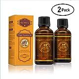 Ingweröl, Pflanzen-Ingwer-Öle für die Körpermassage, Förderung der Durchblutung, Muskelkater, Aromatherapie, Entspannung, Hauttherapie (2er-Pack)