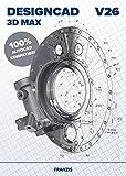 FRANZIS DesignCAD 3D MAX V26 3D Max V26 Für 2D-/3D-CAD Professionelle CAD-Software Für Windows PC Disc Disc